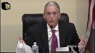Trey Gowdy Laughs Then Stares Silently Pissed at DOJ Official