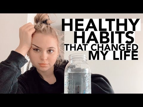 10 Healthy Habits That Changed My Life! Beauty, Lifestyle, & Diet!
