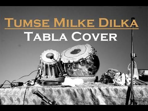 Tumse Milke Dilka | Main Hoon Na | Shahrukh Khan | Sonu Nigam | Tabla Cover by Dhruval Sharma