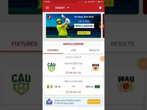 CAU vs WAU Dream 11 team ( Cricket Australia 11 vs Western Australia)