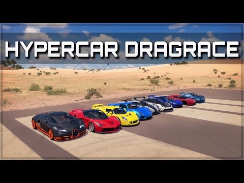 Download ULTIMATE HYPERCAR DRAGRACE | LaFerrari, 918, P1, ONE:1, Regera, Veyron SS & more | Forza Horizon 3 Snapshots