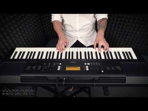 YAMAHA PSR EW300 - звучание синтезатора на 6 октав