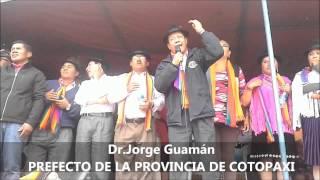 Dr. JORGE GUAMÁN Candidato a la Prefectura de la Provincia de Cotopaxi 2014