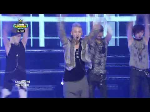 [Nuest-vn.com][24.07.12] NUEST - ACTION @ MBC Music Show Champion