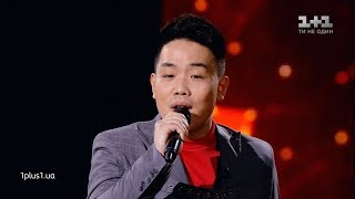 "Syuy Chuan Yun - "" I Have Nothing"" - The knockouts - The Voice Ukraine Season 10"