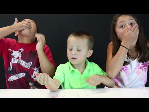 EXPLODING CANDY CHALLENGE and PRANK!  Gross Pop Rocks! (w/ FUNnel Vision Vlog too!)