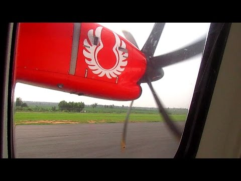 Flight Trip ATR 72-600 Wings Air from Lampung to Bandung