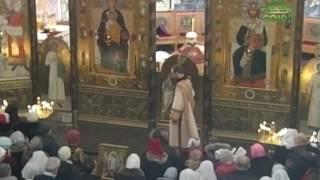 Фото Божественная литургия из Свято Елисаветинского монастыря города Минска