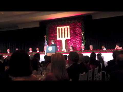 Amy Klobuchar at Gridiron Dinner