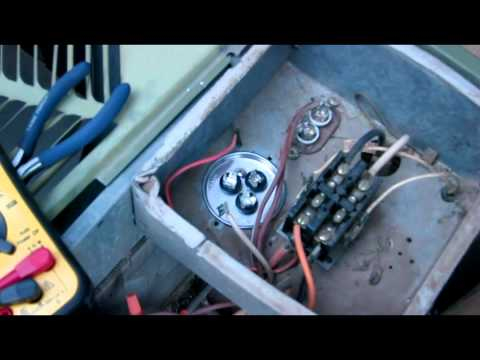 hqdefault?sqp= oaymwEWCKgBEF5IWvKriqkDCQgBFQAAiEIYAQ==&rs=AOn4CLDsCu86I3jcEkUNNx ii5Uvo0QNag rheem air conditioner fan capacitor diy fix vid 1314567770 youtube Rheem Thermostat Wiring at bayanpartner.co