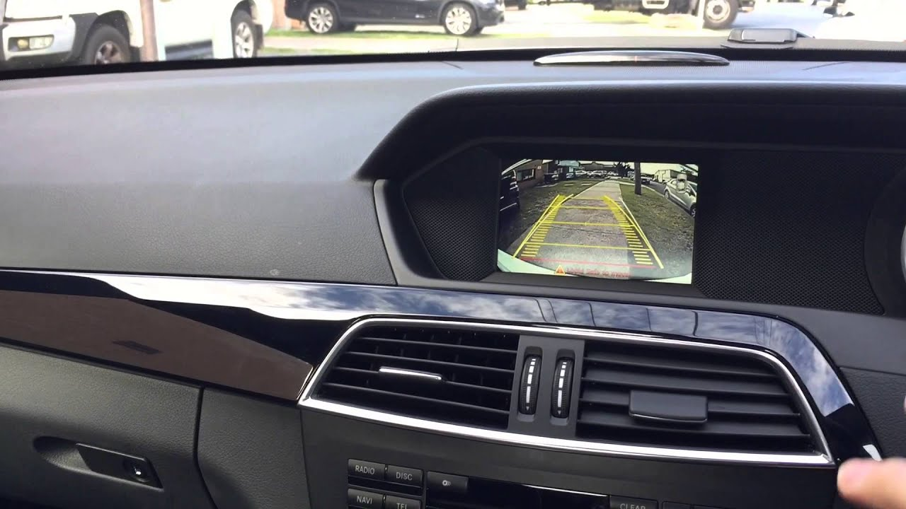 Backup Camera Compatible With Mercedes C