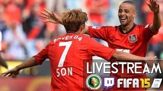 BAYER 04 LEVERKUSEN : 1.FC KAISERSLAUTERN - DFB POKAL | Prognosen [FIFA 15 LIVESTREAM]