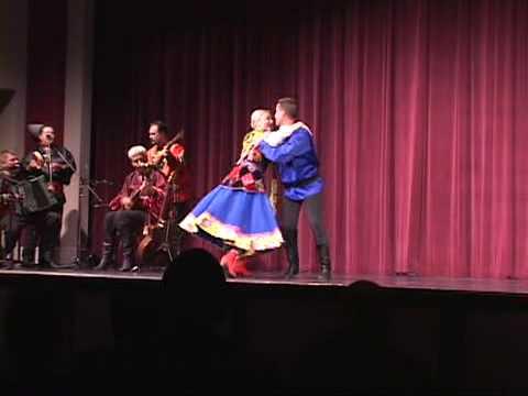 Russian folk song and dance Kazanka