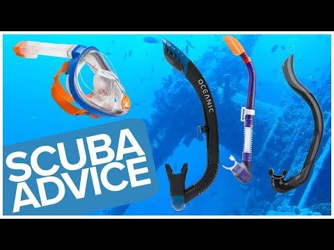 Choosing The Right Snorkel | Scuba Advice