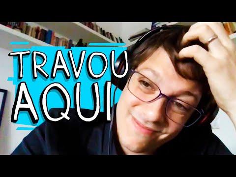 TRABALHANDO EM CASA – TRAVOU AQUI