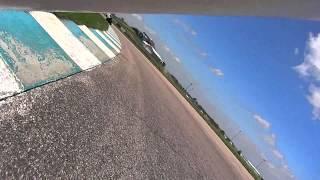 Heartland Park Topeka Motorcycle Track Day laps on my Buell XB12R.