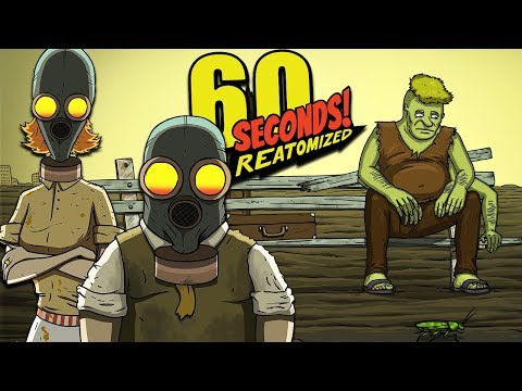 WE FOUND THE LAST PIECE TO OUR SUPER CAR & HIT THE ROAD | 60 Seconds ReAtomized (Car Ending)