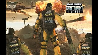 Frontline Fury Fortnight Battle: US Army World War Android Gameplay
