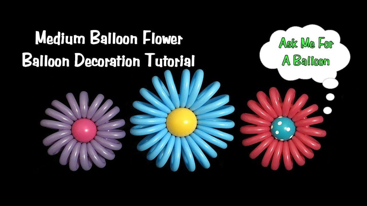 Medium Balloon Flower Tutorial Youtube
