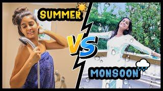 Summer Heat VS. Monsoon Rain 🌧☀ | Rickshawali
