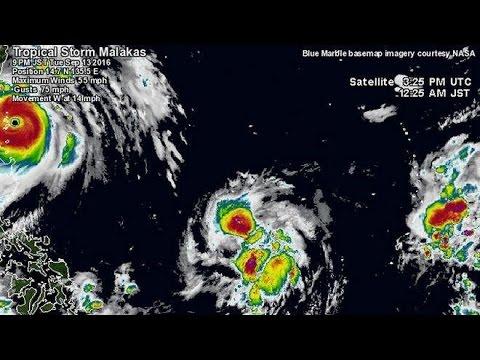 Αυτός ο τυφώνας λέγεται... «Malakas»!
