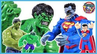 Marvel Месники Халк проти Супермена приречений ! Халк Smash йти! Прикинься грати іграшки - Чарльз іграшка