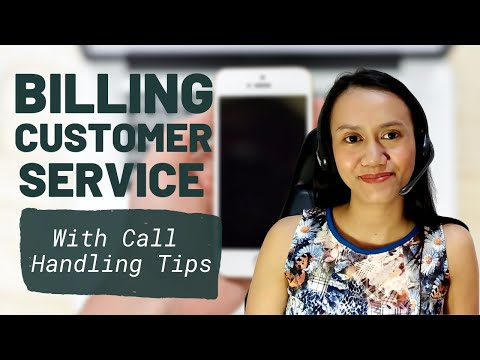 MOCK CALL PRACTICE: Billing Customer Service   Telco Account (With Call Handling Tips)