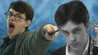 Repeat youtube video Harry Potter vs Harry Houdini - Epic Rap Battles of History (Parody)
