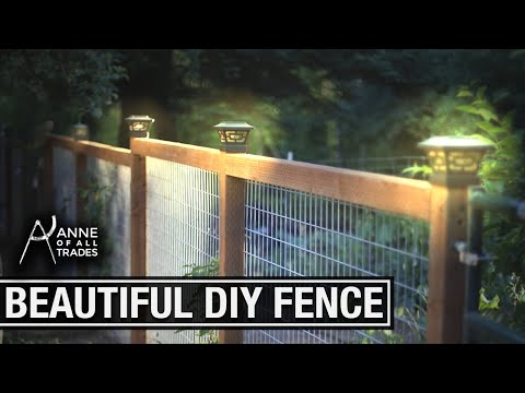 Easy, Beautiful DIY Fence