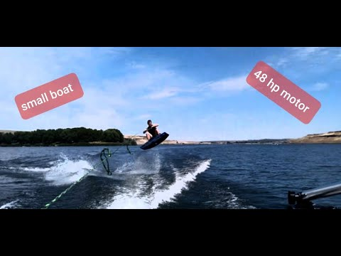 Wakeboarding With A Small Wakeboard Tower