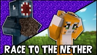 Minecraft - RACE TO THE NETHER CHALLENGE!