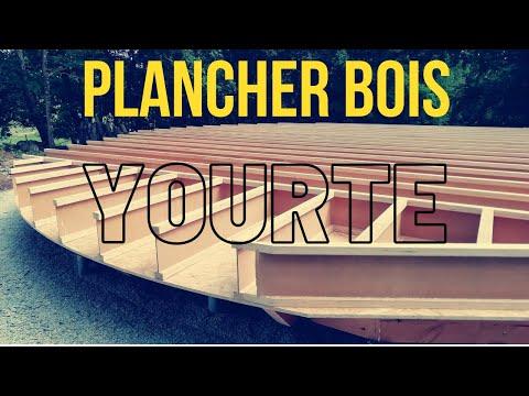 Plancher Bois pour Yourte Contemporaine