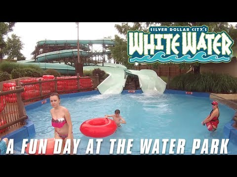 White Water - A fun day at the water park - Branson, MO