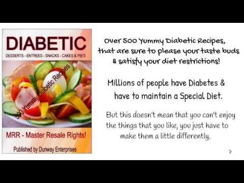 Diabetic Recipes (MRR) Over 500 Tasty Diabetic Recipes!