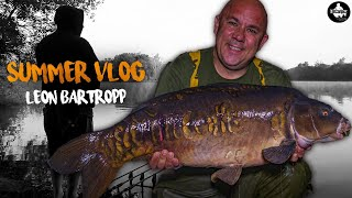 Summer Carp Fishing - Fishing The Park Lake - Leon Bartropp Carp Vlog