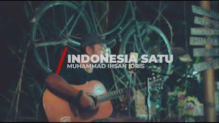 INDONESIA SATU - Muhammad Ihsan Idris   AT Kopi Raya #MUSIKCOVER