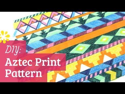 diy-aztec-print-pattern-|-sea-lemon