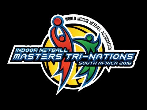 Court 1 Saturday 0ct 20 Indoor Netball Masters Tri-Nations South Africa