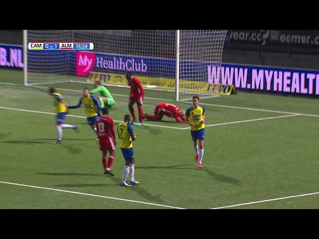 Samenvatting: SC Cambuur Leeuwarden - Almere City FC (2-1)