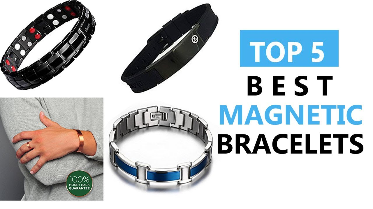 Top 5 Best Magnetic Bracelets Review 2018