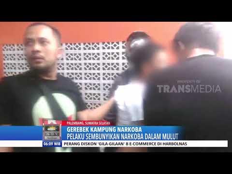 Kampung Narkoba di Palembang DIGEREBEK
