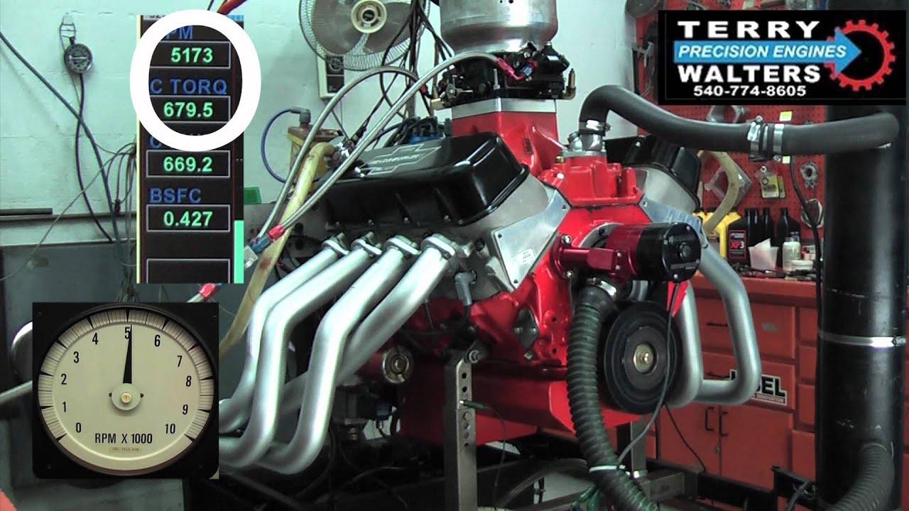 496 David Vizard Signature BBC Book Cover Engine 782HP 680lb/ft