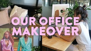 My New Office + Office Makeover at WeWork | Aimee Song