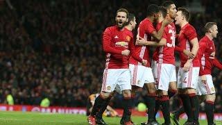 Manchester United 2-0 Hull City | EFL Cup | GOALS: Mata, Fellaini