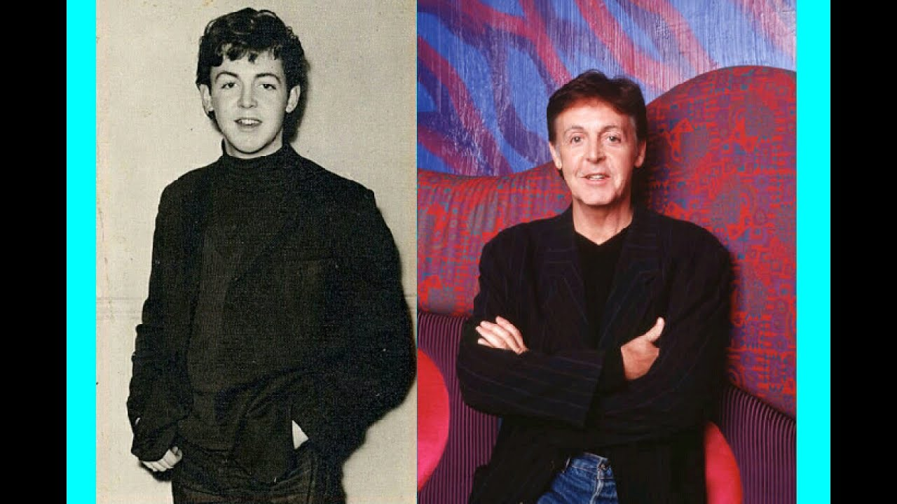 Paul McCartney Photo Comparison 1959
