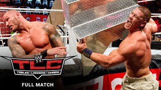 FULL MATCH  John Cena vs. Randy Orton – WWE World Heavyweight Title TLC Match: WWE TLC 2013