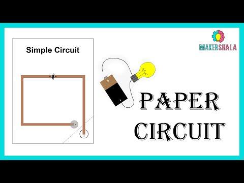 Paper Circuit    DIY    Makershala