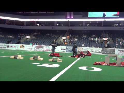 Demonstration at Allen Event Center Indoor Football Field