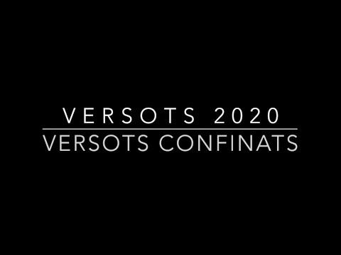VERSOTS CONFINATS 2020