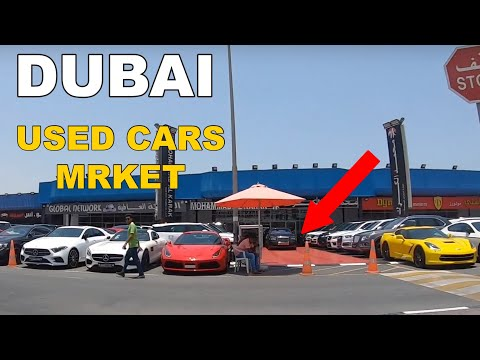 Driving At Largest Used Car Market IN DUBAI ( AL AWEER AUTO)